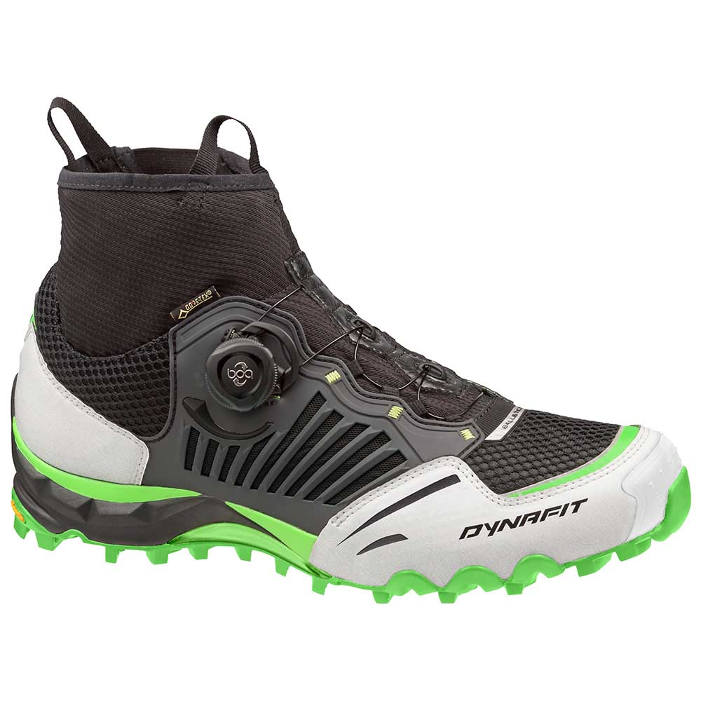 Chaussures Dynafit Alpine Pro Goretex EU 35 Black / Lime Punch