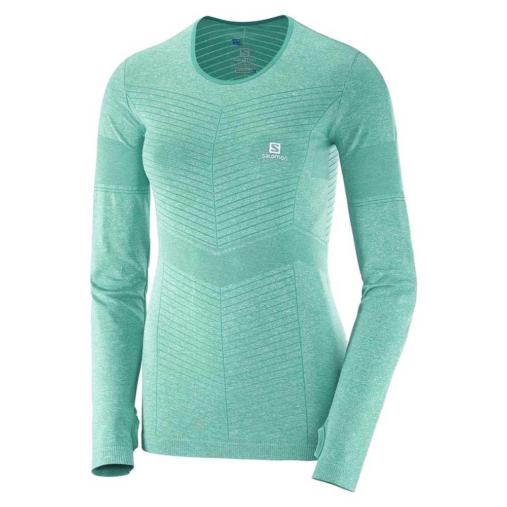 Polyester COMET TEE Salomon Womens Short Sleeved T-shirt