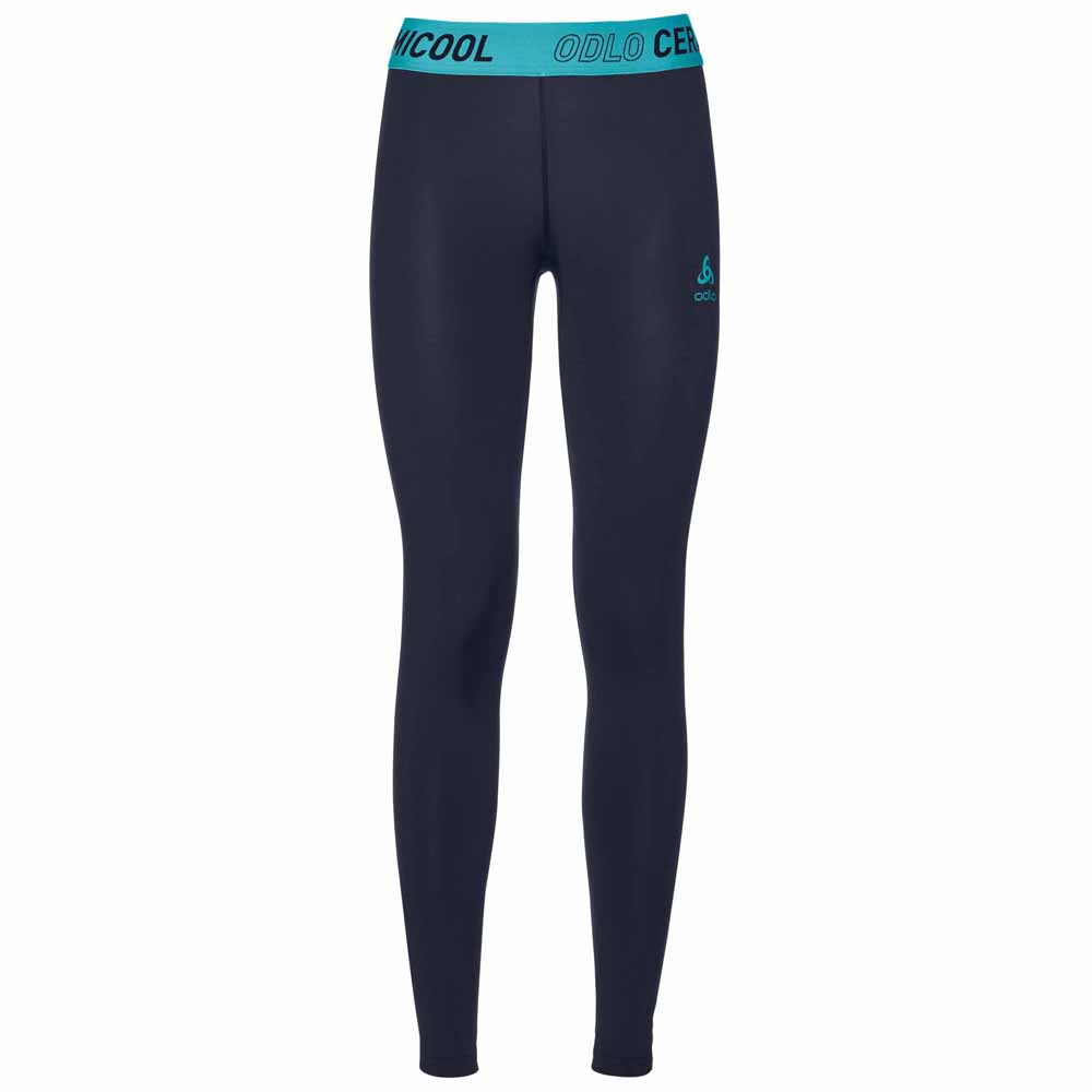 8c33a75185e Odlo Ceramicool Pants Blue buy and offers on Trekkinn