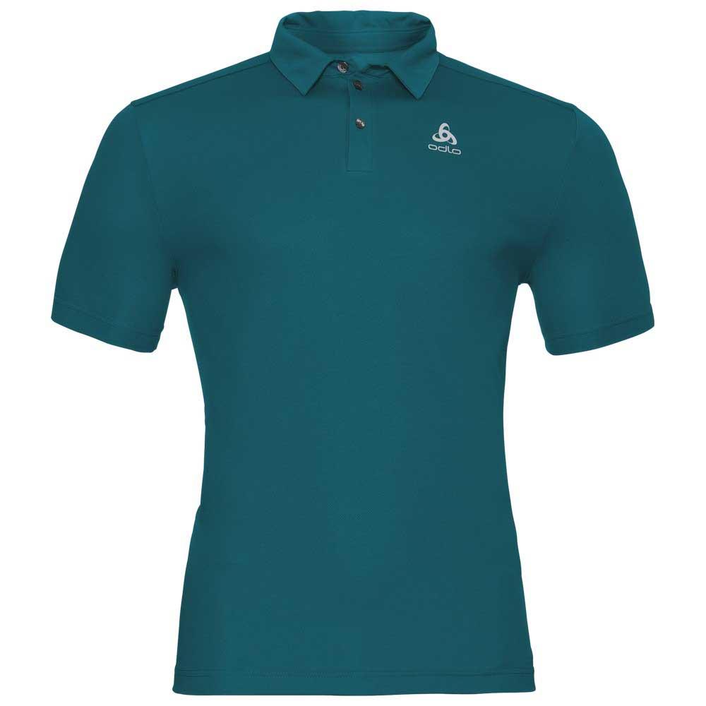 Odlo Peter Polo Shirt Ss Green Buy And Offers On Trekkinn