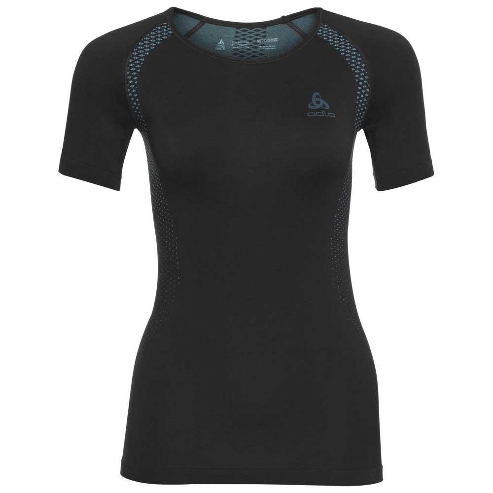 5cccb51fb1f80 Odlo Essentials Seamless Shirt S/S crew neck Blue, Trekkinn