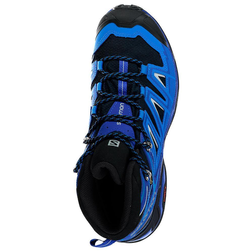 9c2fe2ed675d Salomon X Ultra 3 Mid Goretex Blue buy and offers on Trekkinn