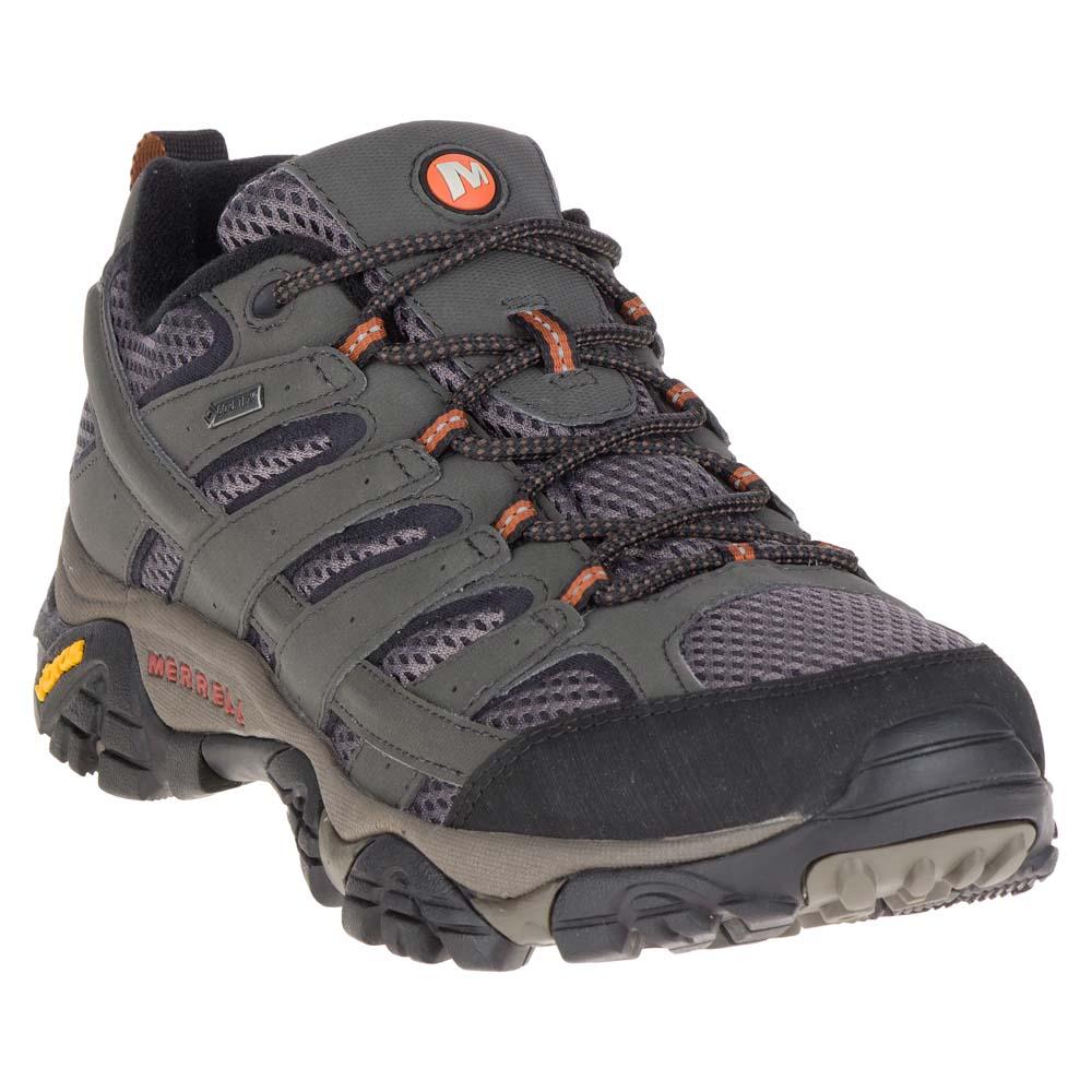 Grey Merrell Moab 2 GTX  Mens Walking Shoes