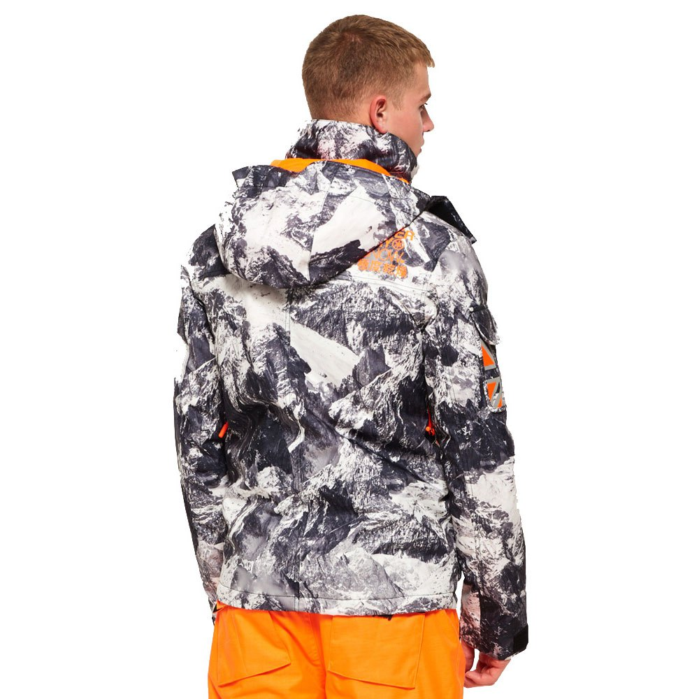 Superdry Ultimate Snow Service Jacket Grey, Trekkinn