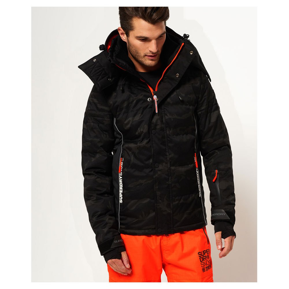 cc9f63e167148 Superdry Snow Puffer Grey buy and offers on Trekkinn