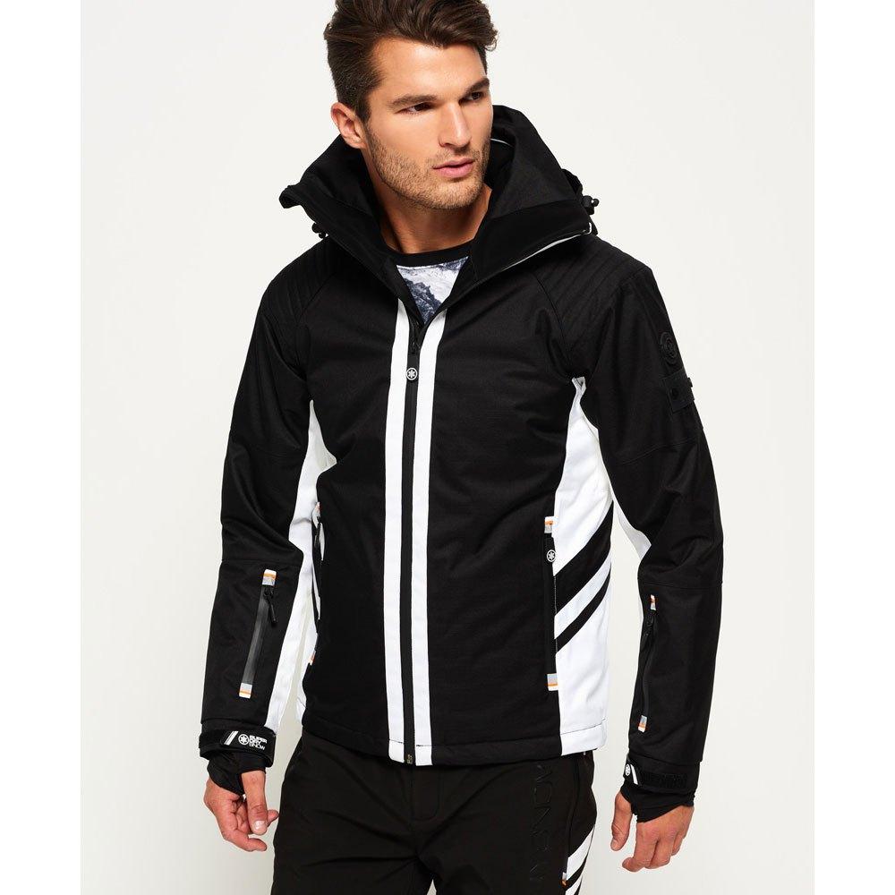 f4437704d Superdry Super Slalom Ski Jacket Black