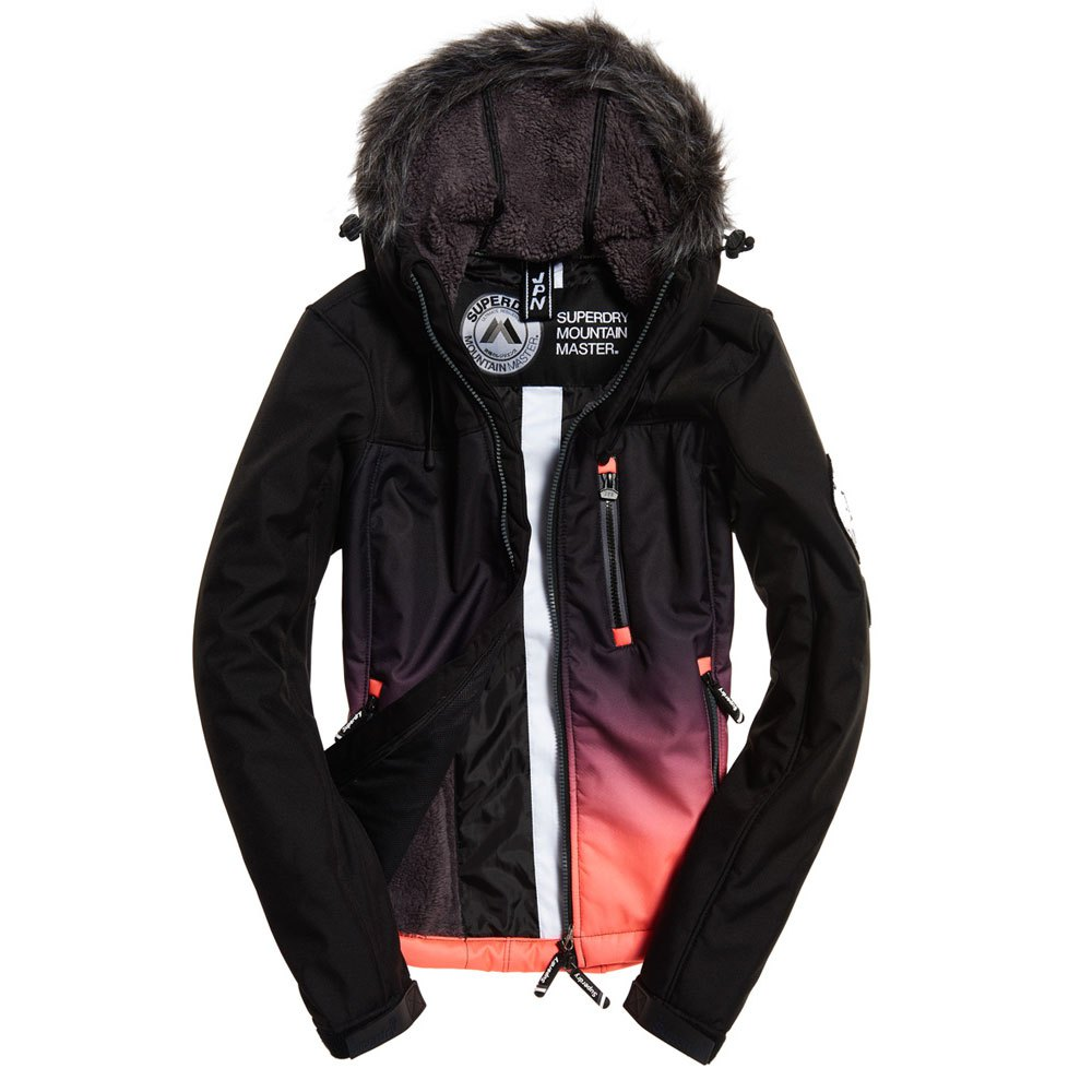 b0790b0f Superdry Glacier Jacket Red buy and offers on Trekkinn