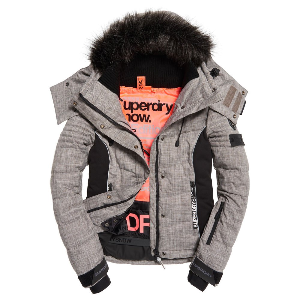 superdry snow jacke damen