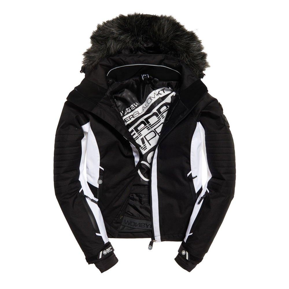 37d296f0b Superdry Super Slalom Ski Jacket Grey buy and offers on Trekkinn