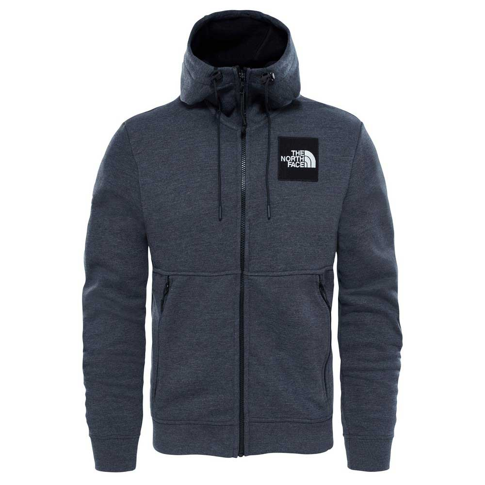 5d9753f39 The north face Fine Full Zip Hoodie buy and offers on Trekkinn