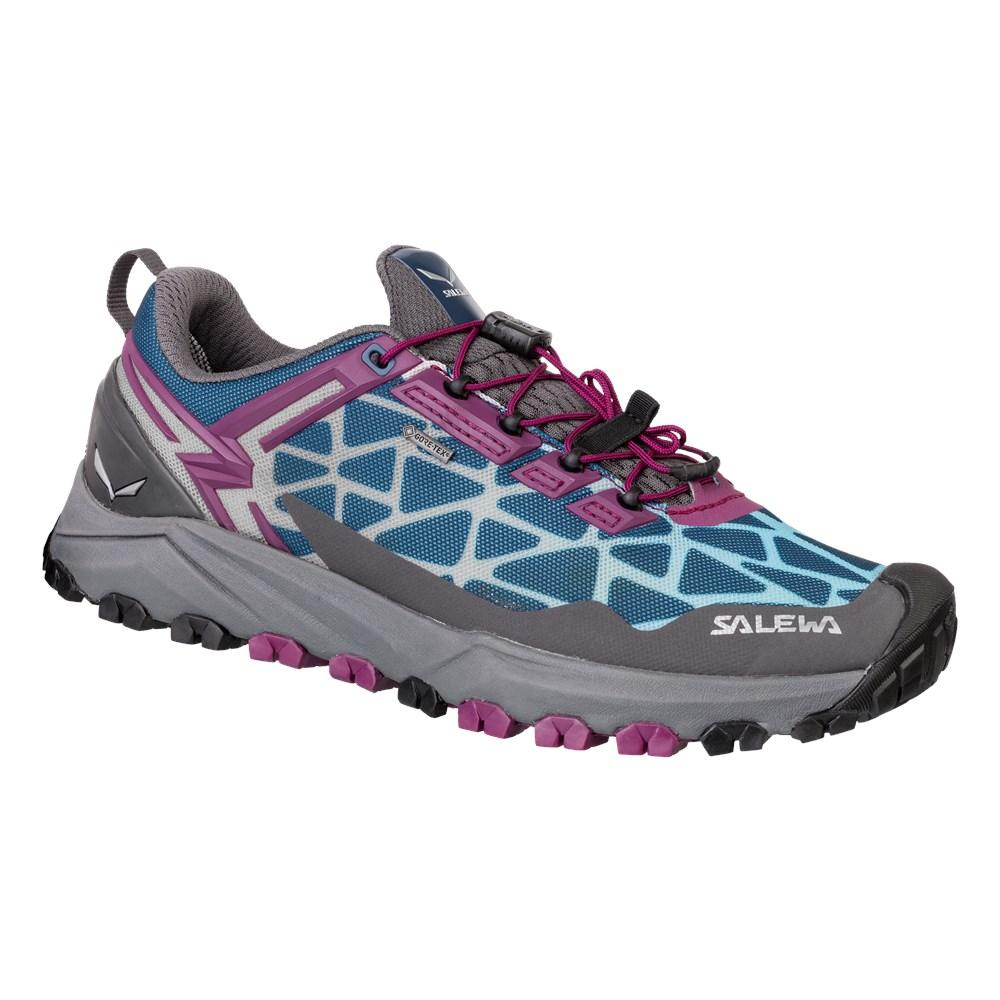 Salewa Women's Multi Track Speed Hiking Shoe | Mountain Training, Mountain Biking, Trail Running | Michelin Rubber Outsole, Breathable Lightweight