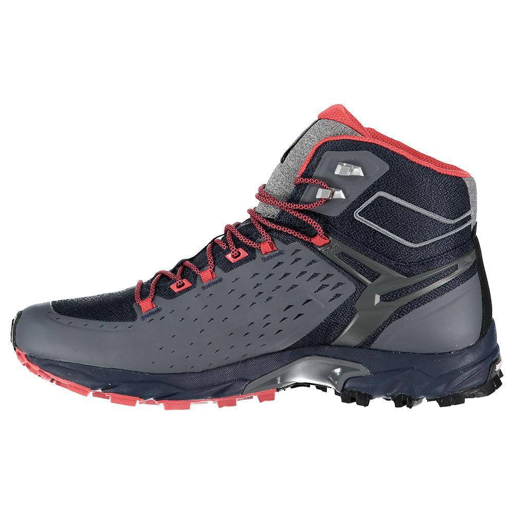 Chaussures de trail Femme Salewa Alpenrose Ultra Mid Gore Tex Noires et jaune Taille 41