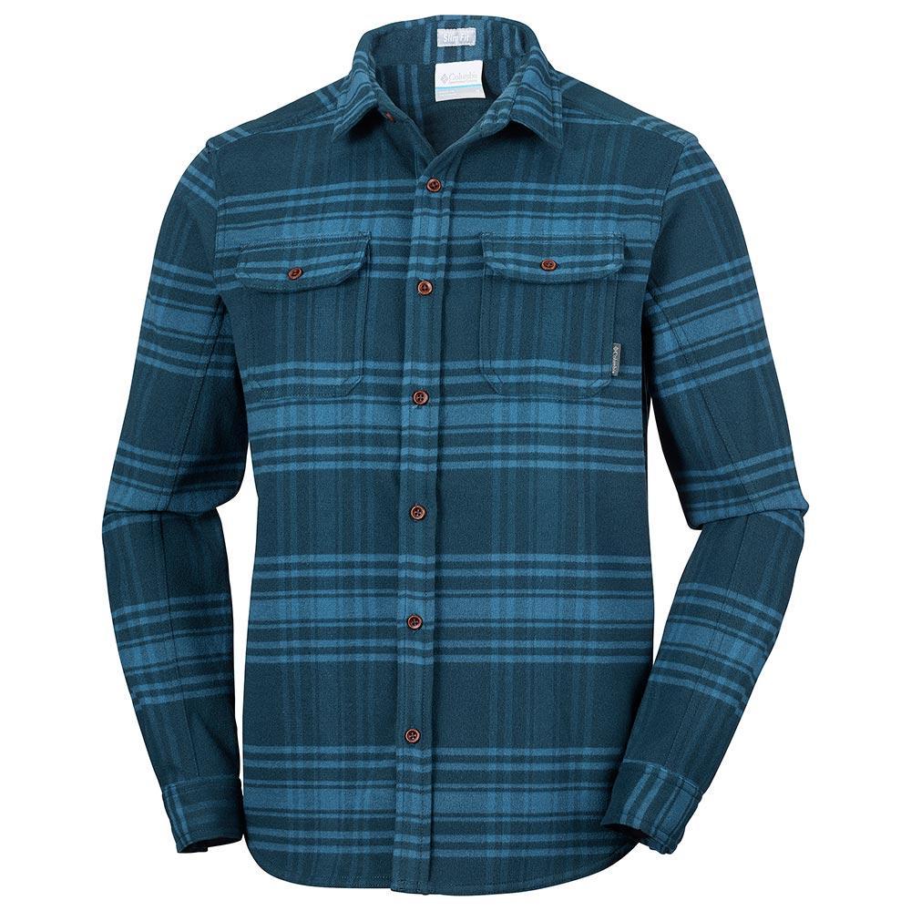 ba73b1ae113 Columbia Deschutes River Heavyweight Flannel, Trekkinn Koszule
