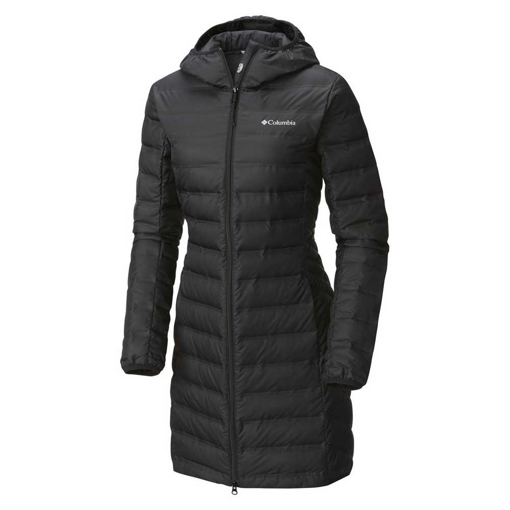 Columbia Lake 22 Long Hooded Black buy and offers on Trekkinn cb001c6a1dc