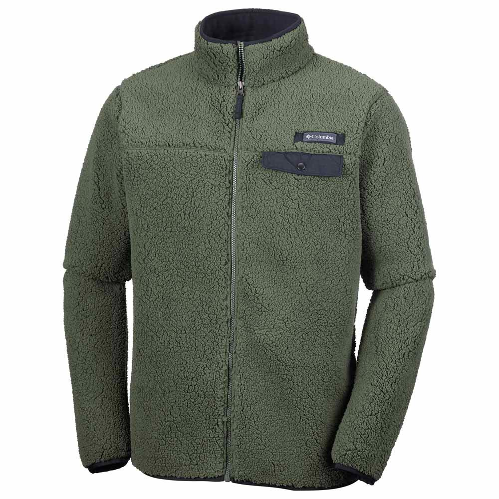 38281eb67d7 Columbia Mountain Side Heavyweight Fleece Full Zip Green