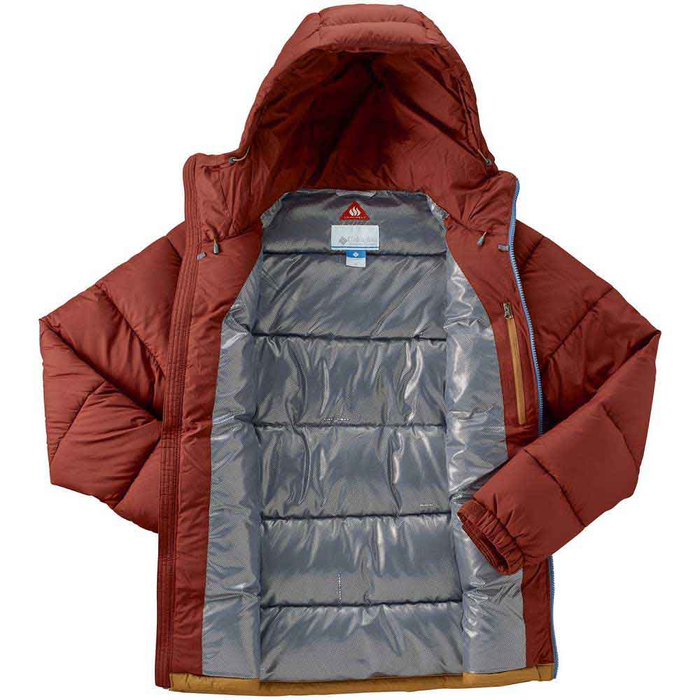 425a22f7526d Columbia Pike Lake Hooded Brown buy and offers on Trekkinn