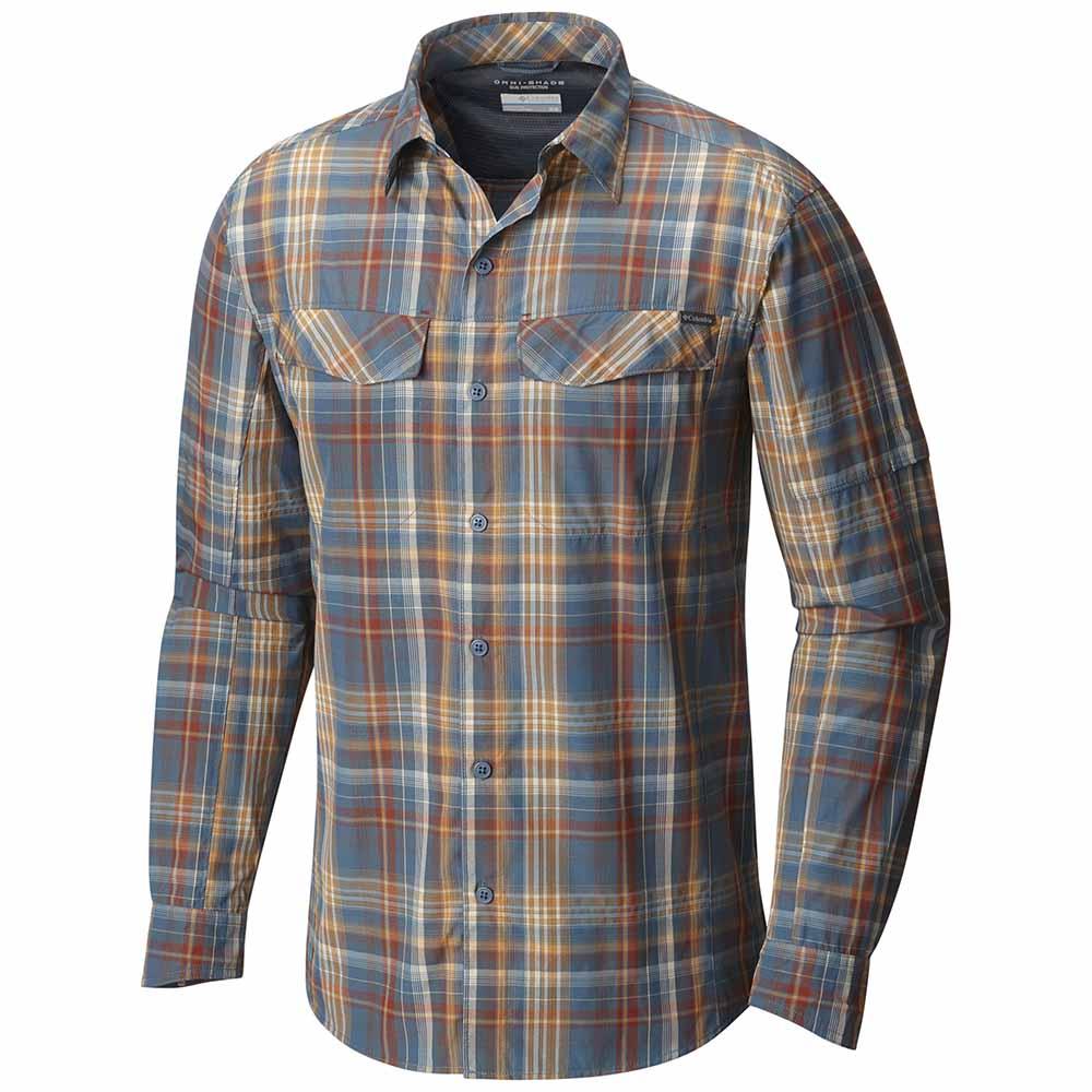 57fb6dba0 Columbia Silver Ridge Plaid L/S Shirt Grey, Trekkinn