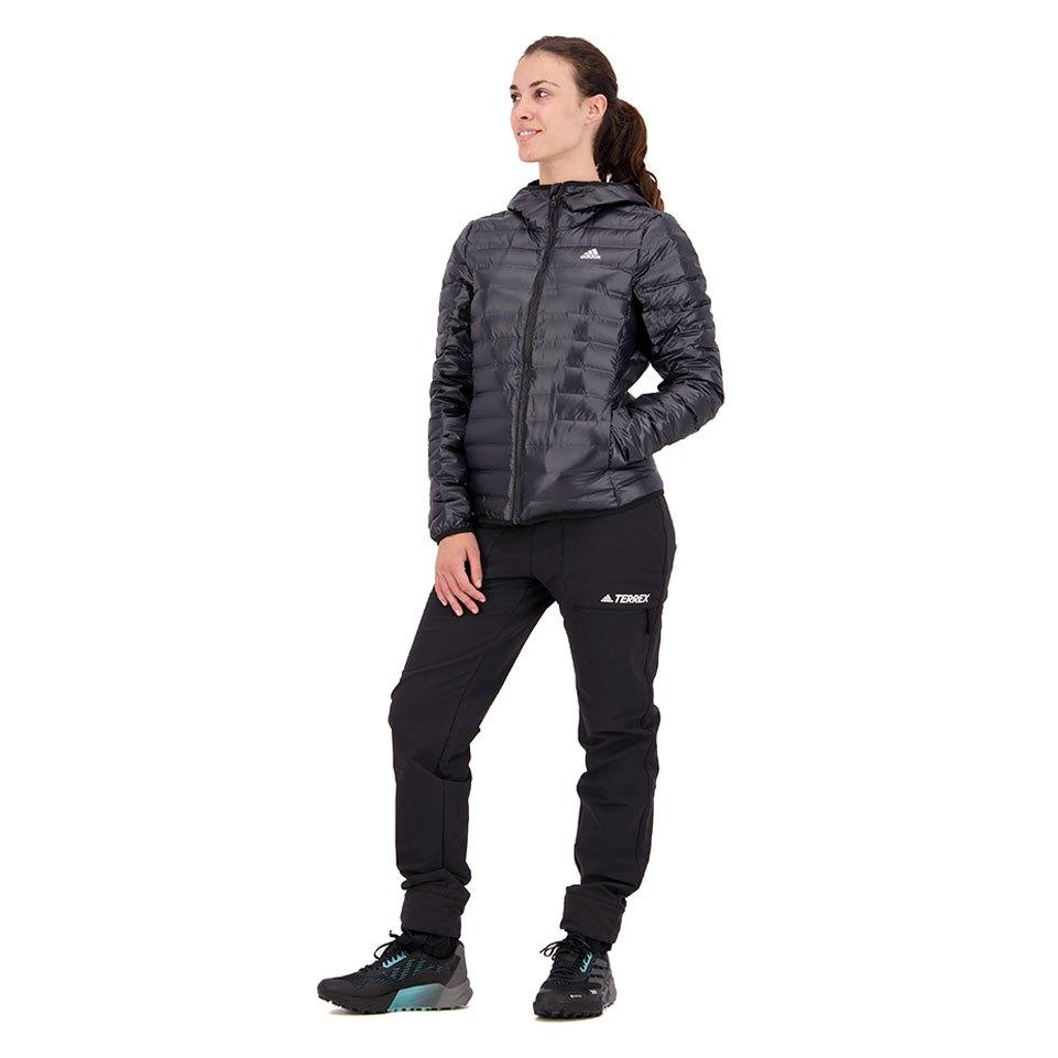 adidas Varilite Down Hooded Negro comprar y ofertas en Trekkinn e32519d0926