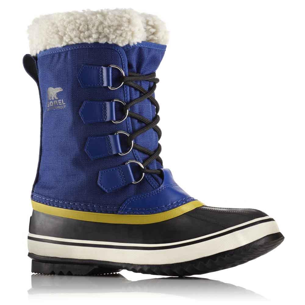 Winter Carnival, Botas de Nieve para Mujer, Azul (Aviation/Black), 36 EU Sorel