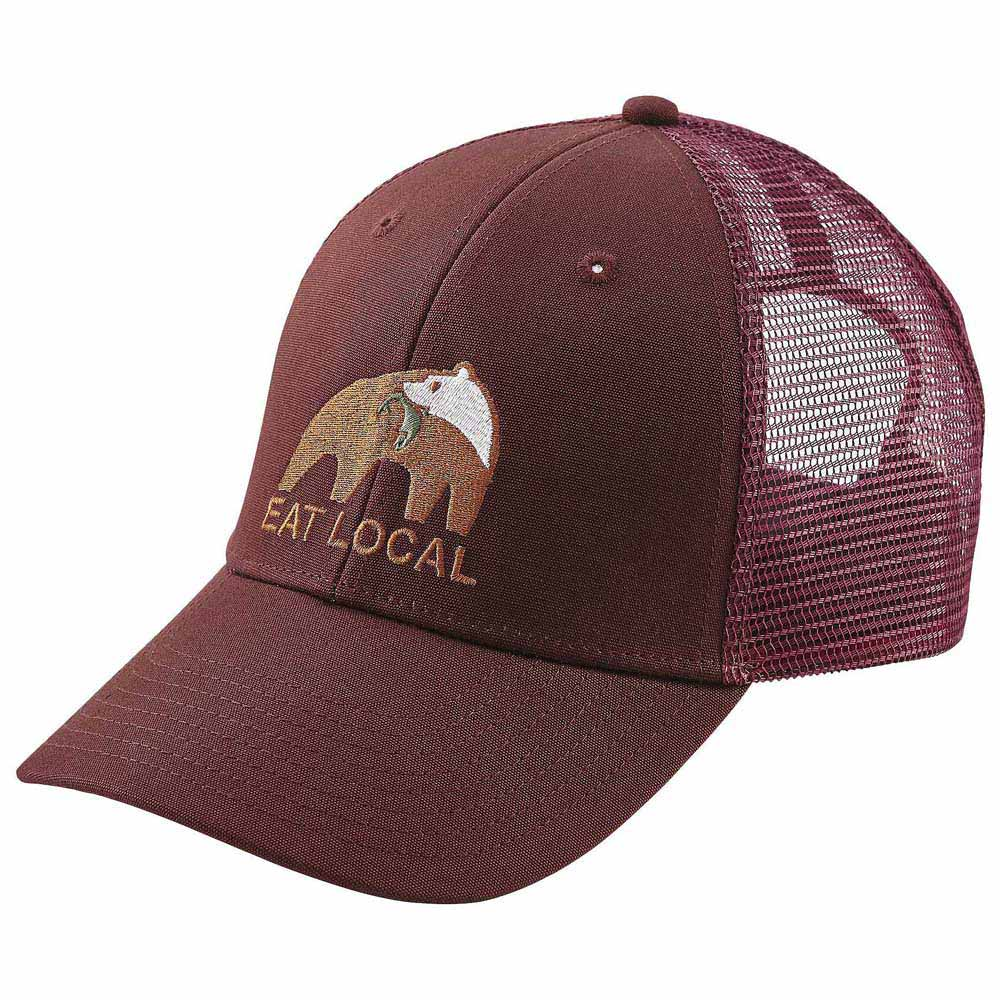 882d5a4b52 Patagonia Eat Local Upstream LoPro Trucker Hat