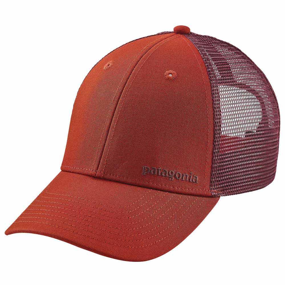 ba601b33 Patagonia Small Text Logo LoPro Trucker Hat, Trekkinn