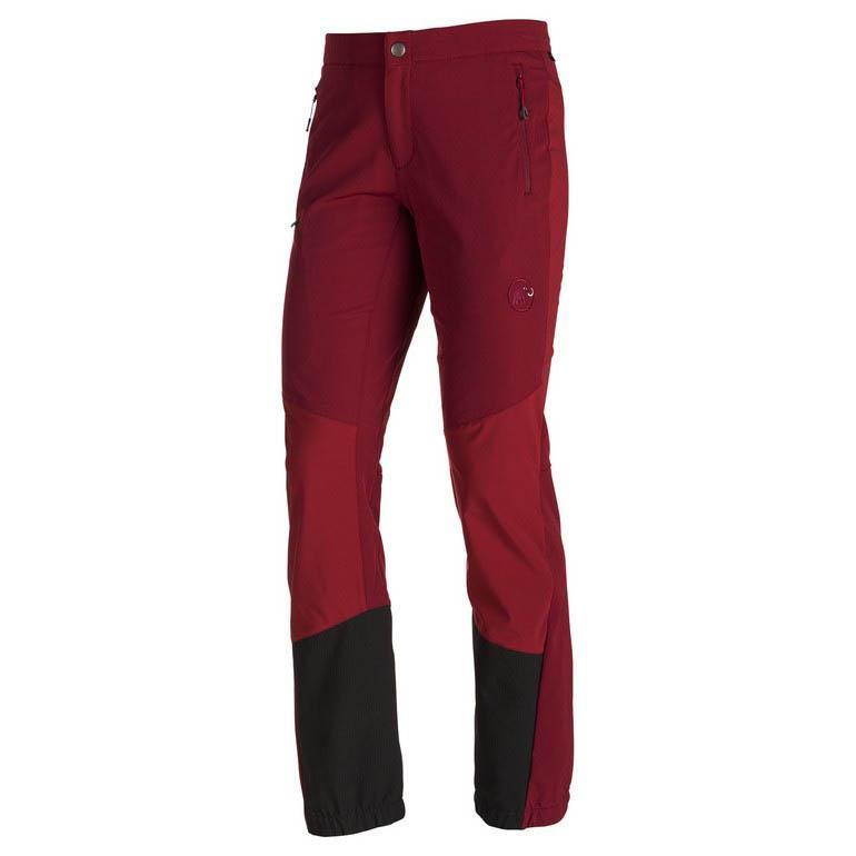 buy online 179af cf6d8 Mammut Base Jump Advanced SO Pants Short Red, Trekkinn