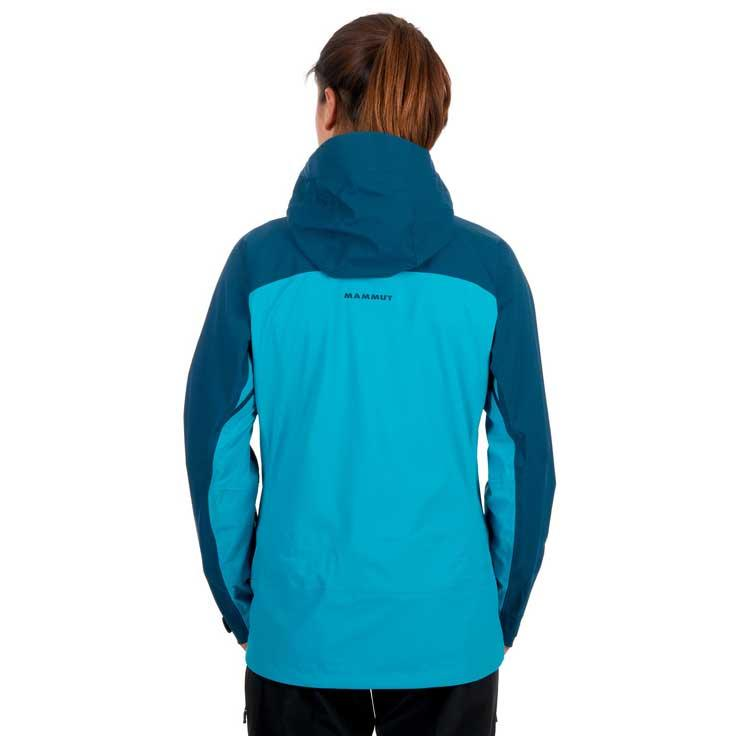 buy low price outlet online Mammut Luina Tour Hooded Blue buy and offers on Trekkinn