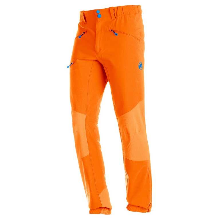large discount new images of outlet boutique Mammut Eisfeld Advanced SO Pants Regular Orange, Trekkinn