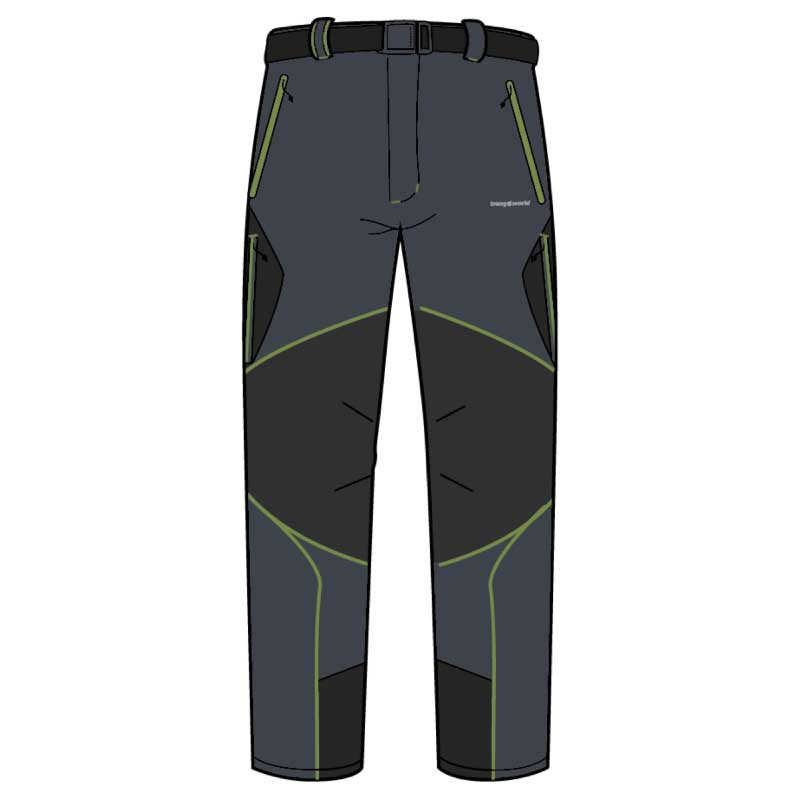 Pantalons Trangoworld Vanced Pants Regular XXL Magnet / Peridot