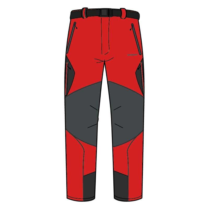 Trangoworld Vanced Pants Regular XXL High Risk Red / Dark Shadow