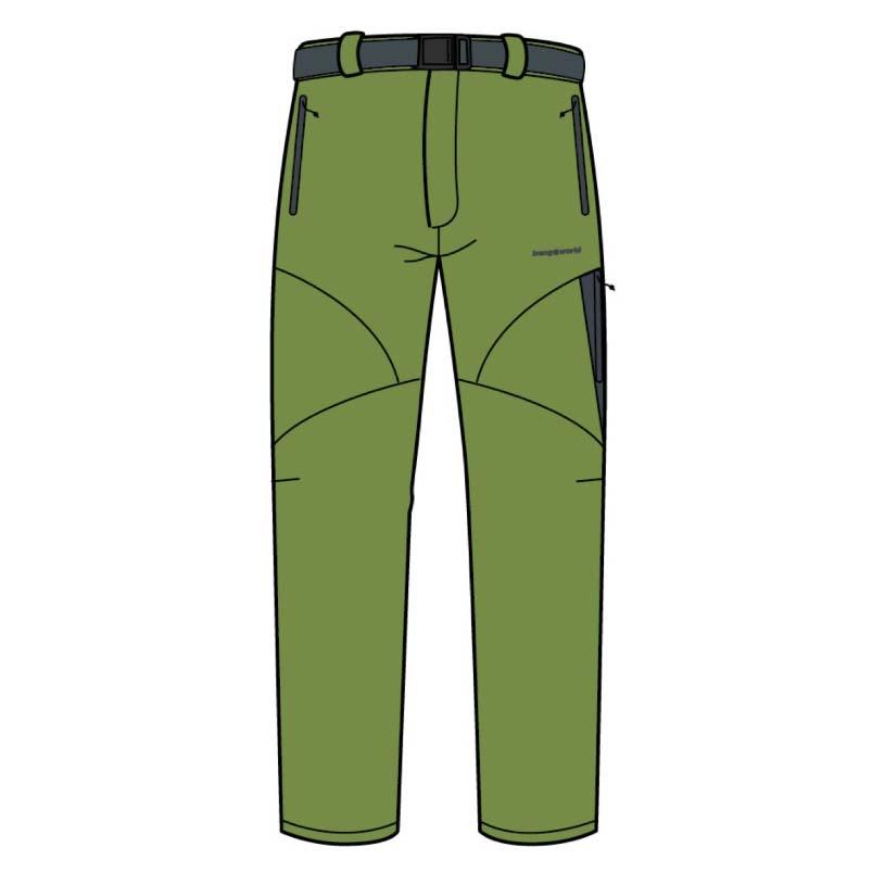 Pantalons Trangoworld Chebika Pants Regular XXL Peridot / Magnet