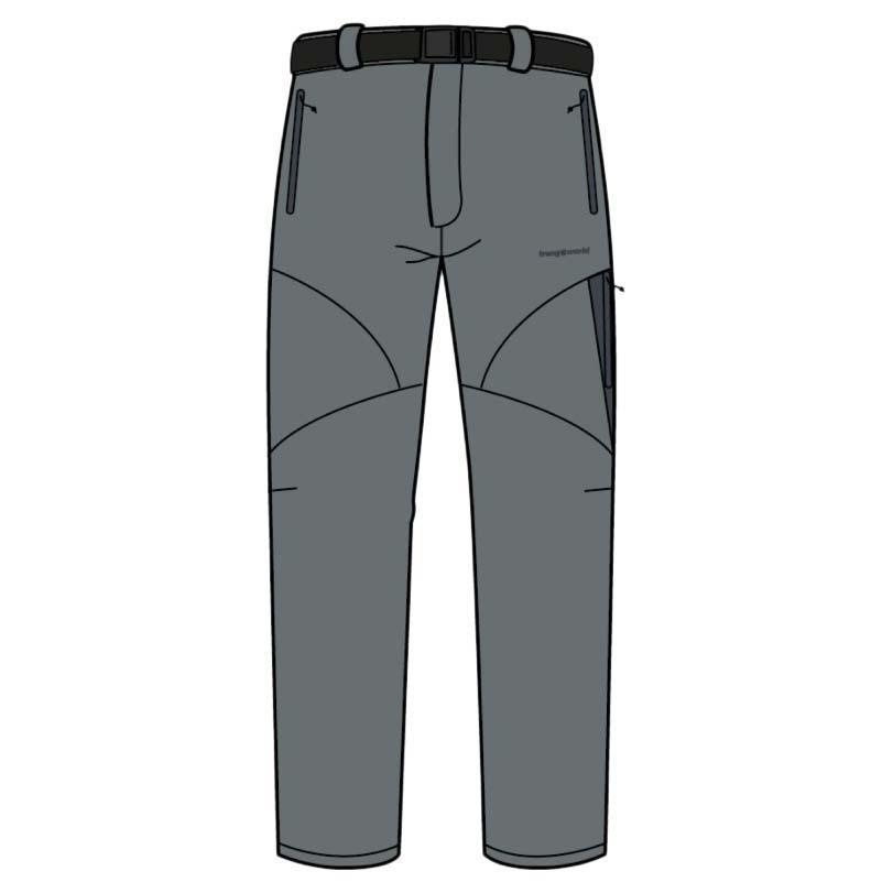 Pantalons Trangoworld Chebika Pants Regular XXL Sedona Sage / Magnet
