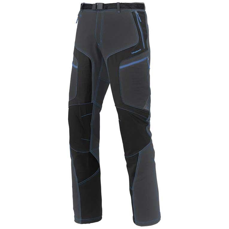 Pantalons Trangoworld Krash Pants Regular XXL Black / Magnet