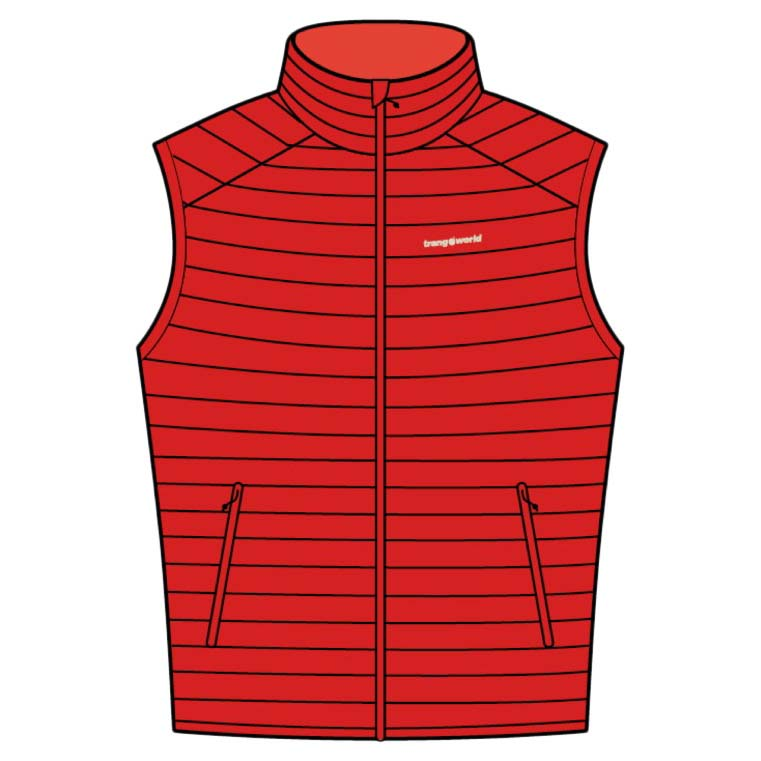 Gilets Trangoworld Otal Vest M High Risk Red