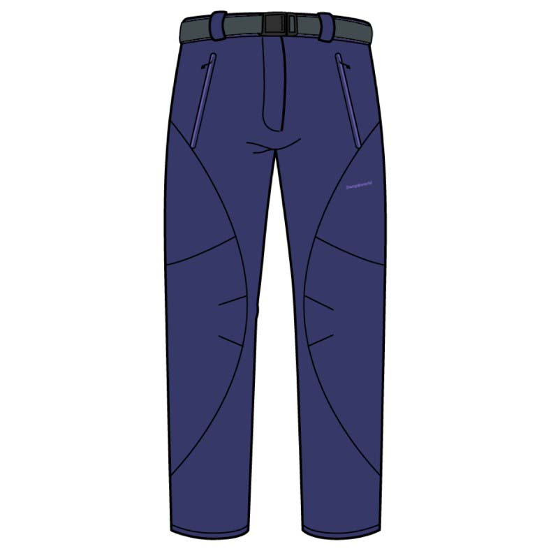 Pantalons Trangoworld Sequoia Pants Regular L Navy Blue