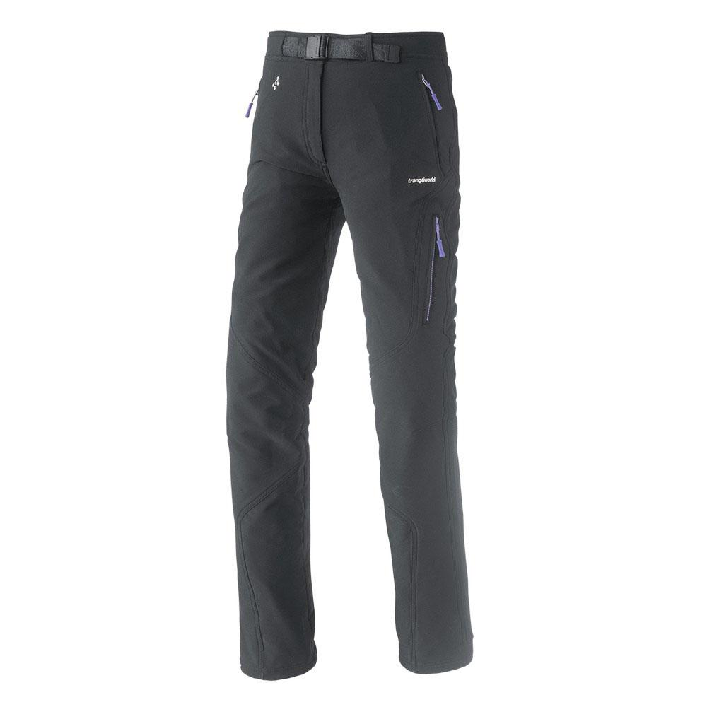 Pantalons Trangoworld Esprea Pants Long L Black