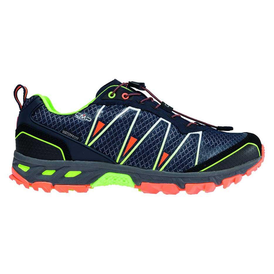 Chaussures Cmp Atlas Trail EU 41 Navy / Mint / Orange Fluo