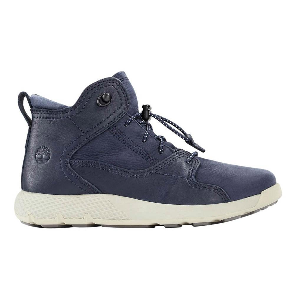 Timberland Flyroam Leather Hike Youth Blue 655bee319d