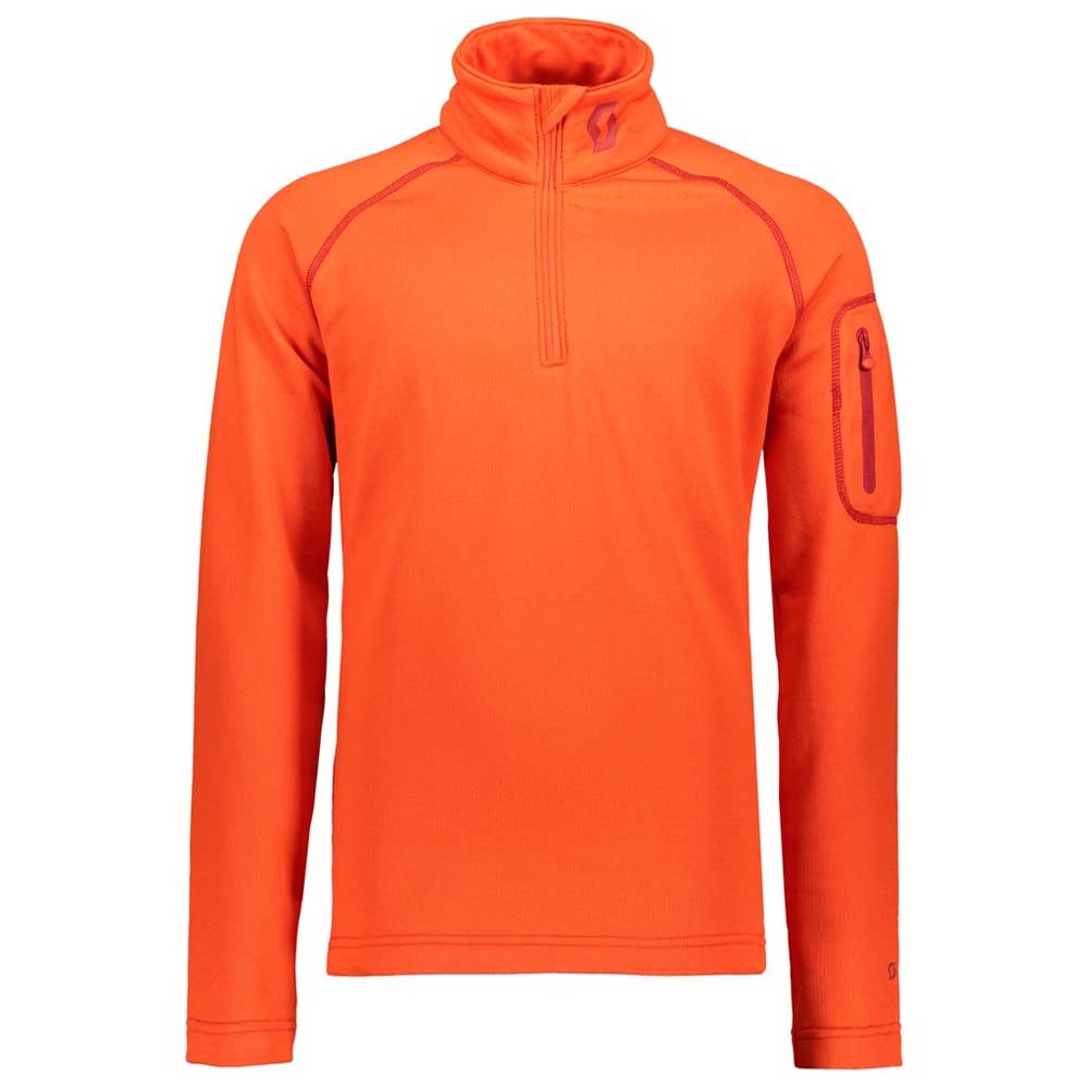 1/2 Zip Defined Light Long Sleeves