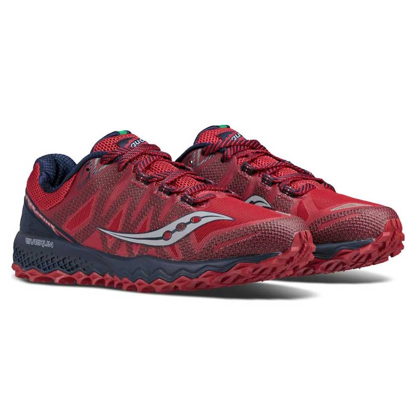 7ad470af954c Saucony Peregrine 7 Red buy and offers on Trekkinn