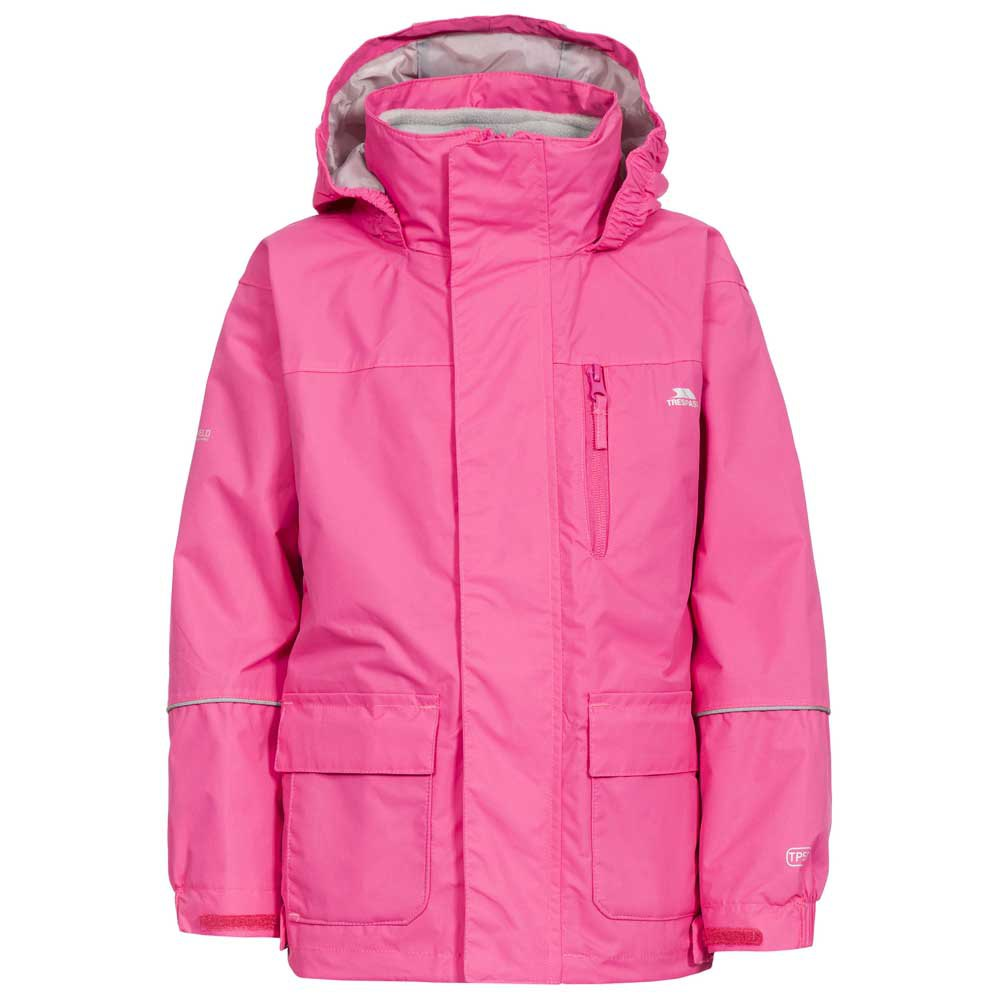 Kids Trespass Skydive 3in1 Jacket With Detachable Fleece