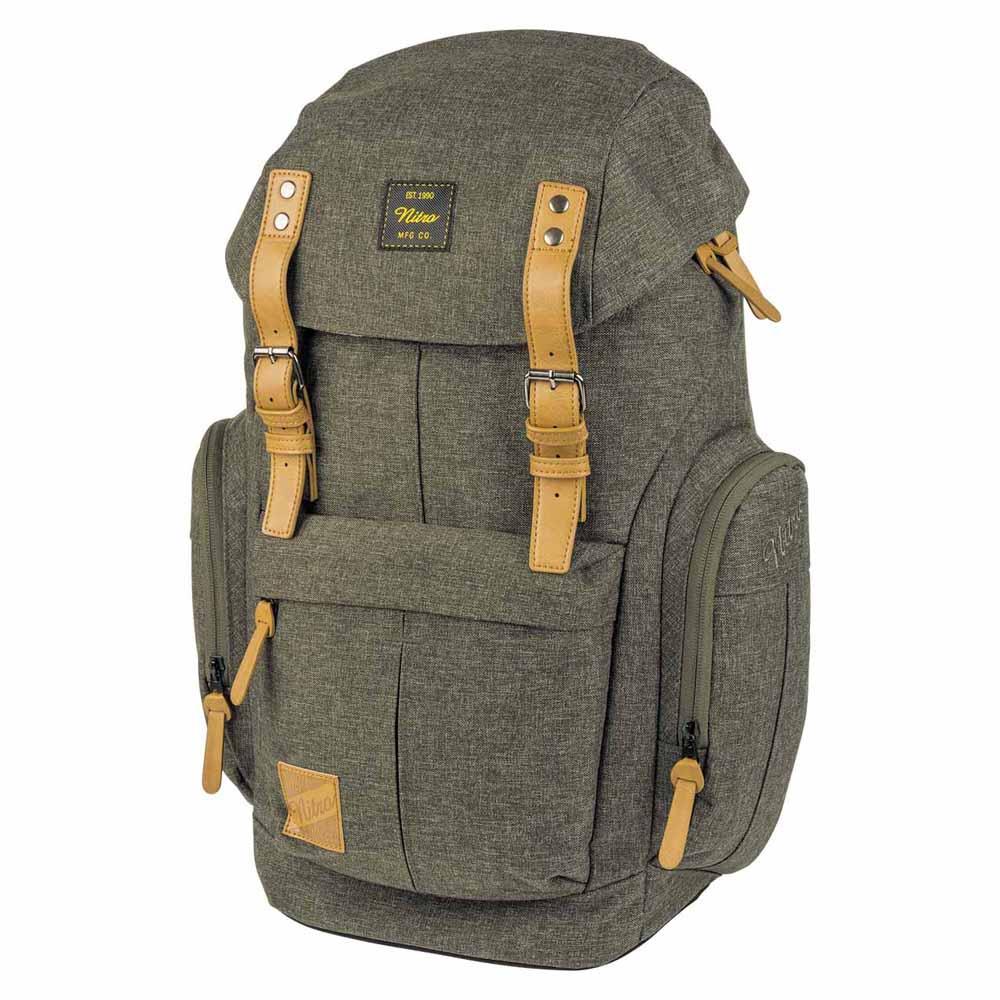 be0ec3819c0d Nitro Daypacker Green buy and offers on Trekkinn