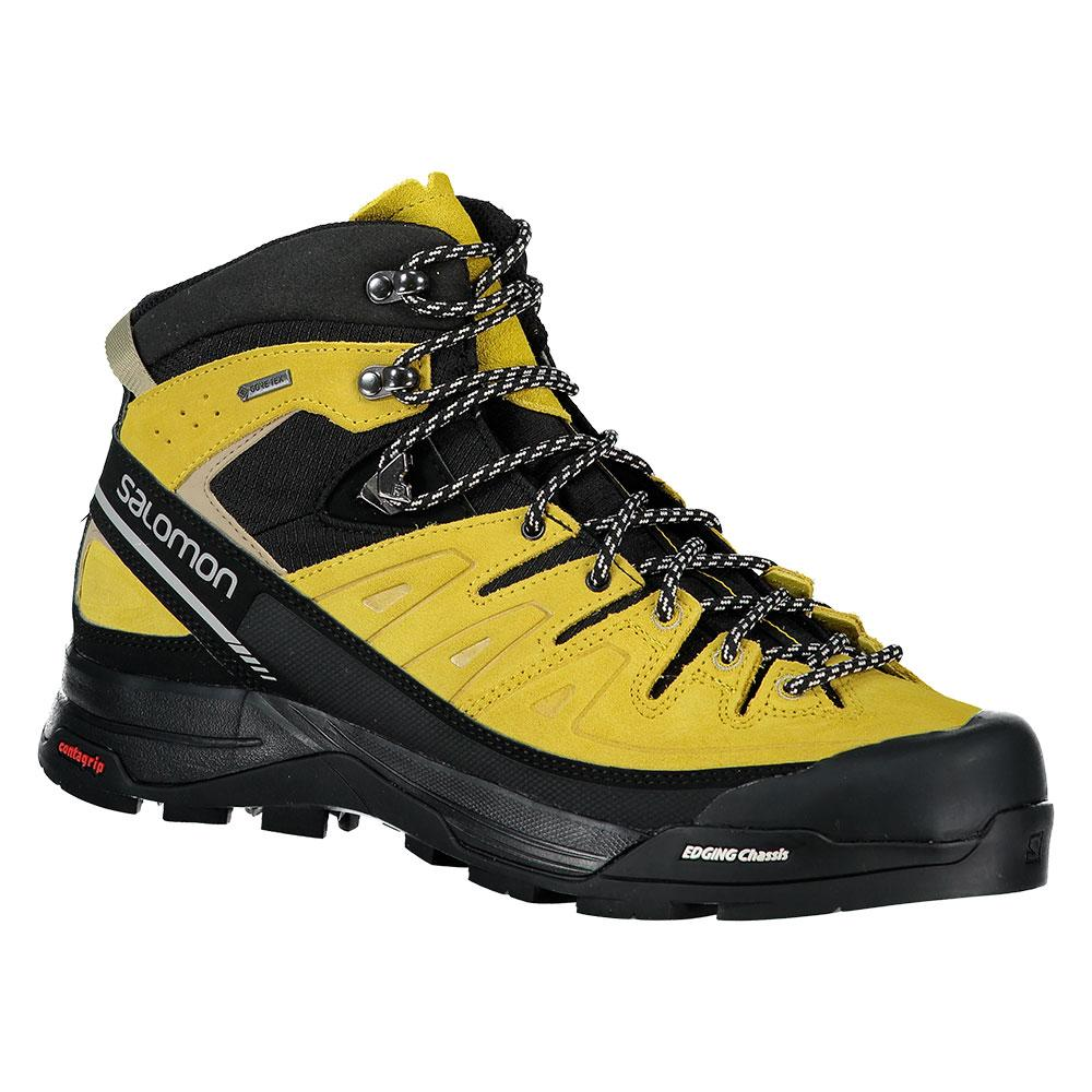 Salomon Hommes X Alp Mid LTR GTX High-Top En Cuir Randonnée Bottes