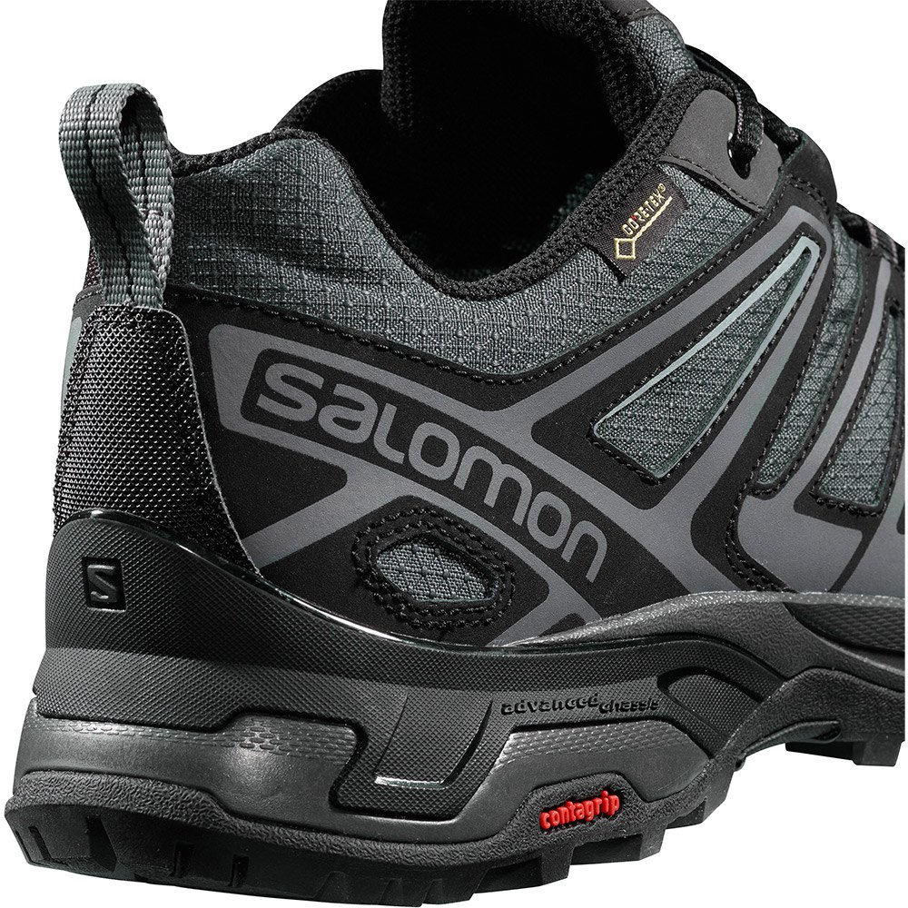 Salomon X Ultra 3 Prime Goretex Cinzento, Trekkinn Sapatos