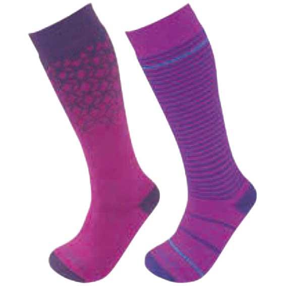 Trespass Childrens//Kids Twitcher Patterned Socks