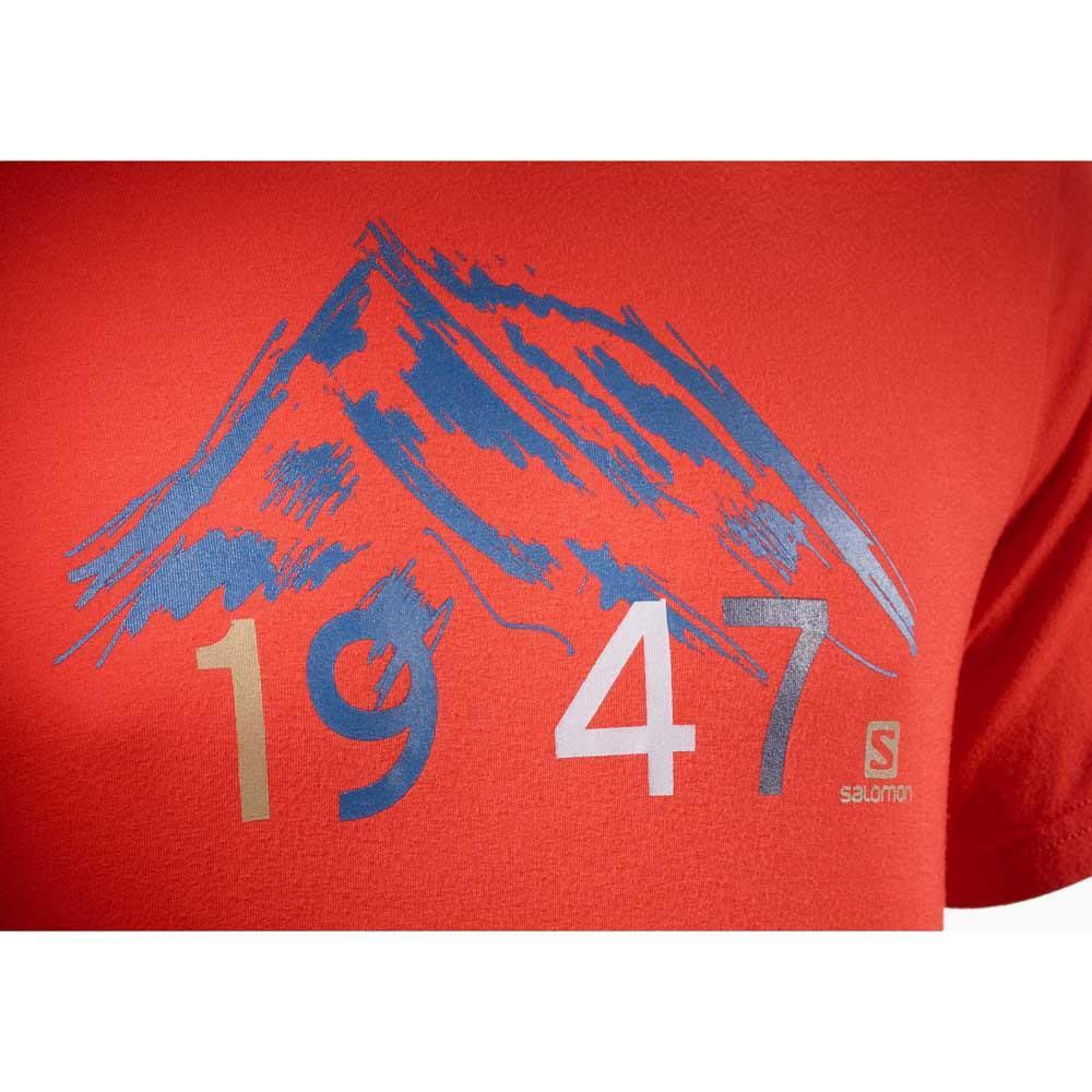lenkkarit juoksukengät muutaman päivän päässä Salomon 1947 S/S Tee Punainen osta ja tarjouksia, Trekkinn T ...