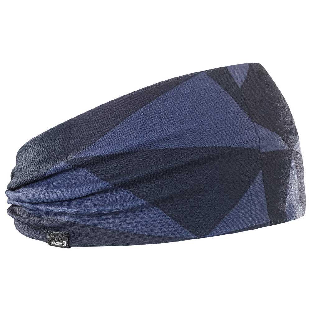 Salomon Light Headband Blue buy and offers on Trekkinn 578c8f8a47