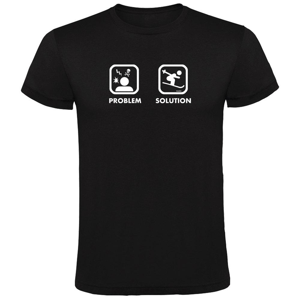 T-shirts Kruskis Problem Solution Ski XXL Black