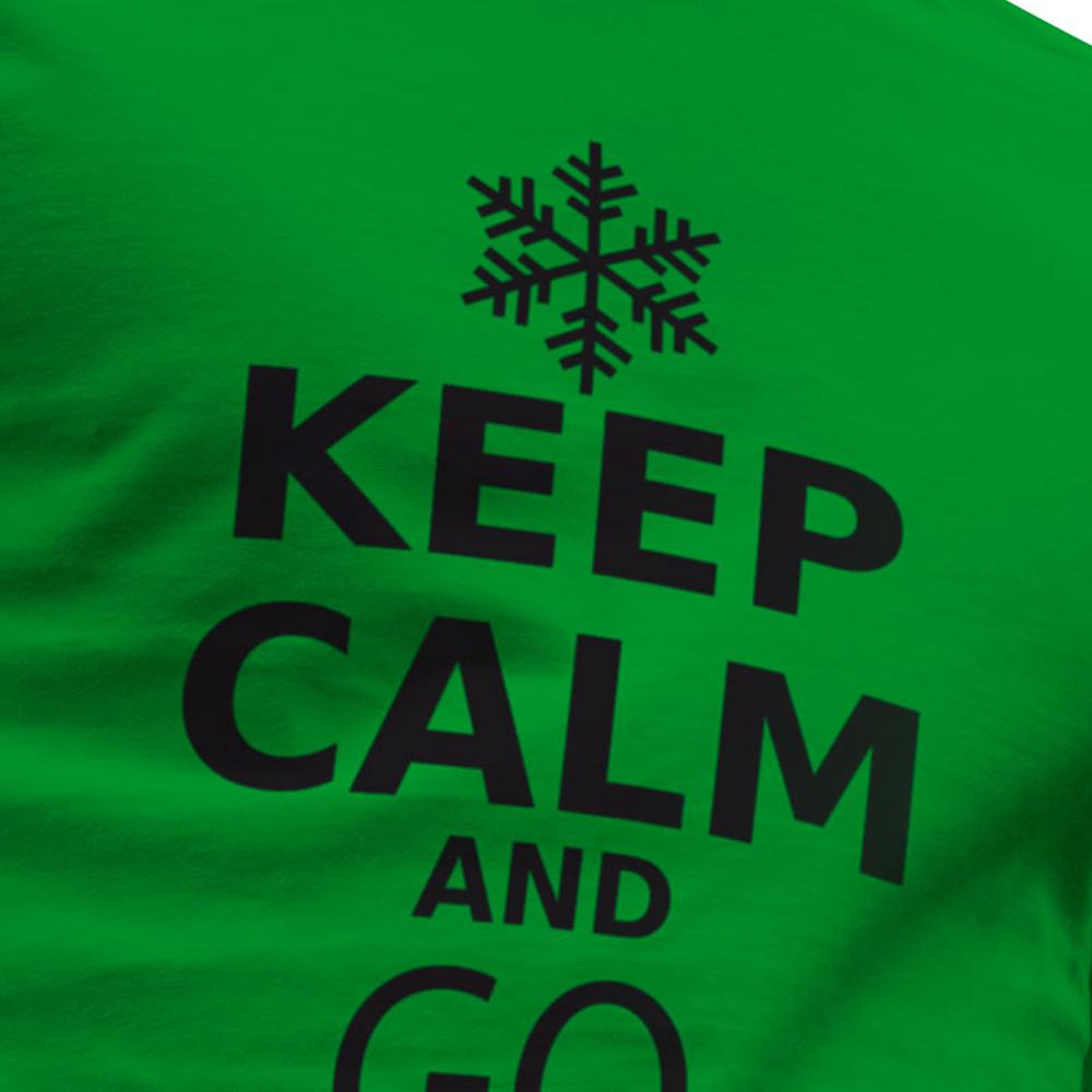kruskis keep calm and go skiing 緑 trekkinn