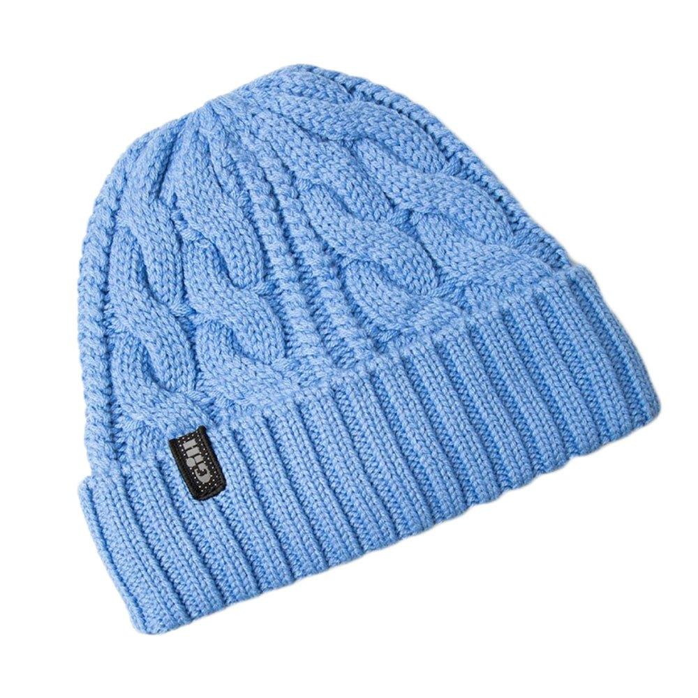 02d02e5e18d Gill Cable Knit Beanie Blue buy and offers on Trekkinn